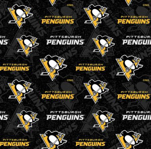 NHL Two Tone Pittsburgh Penguins Cotton - Sykel Enterprises (1190pen)