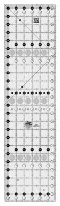 Creative Grids Quilt Ruler 6-1/2in x 24-1/2in (CGR24)