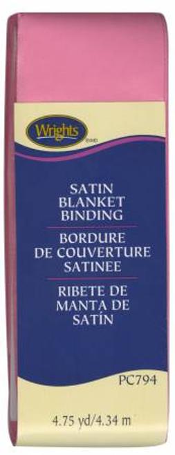 Hot Pink Satin Blanket Binding (117794904)