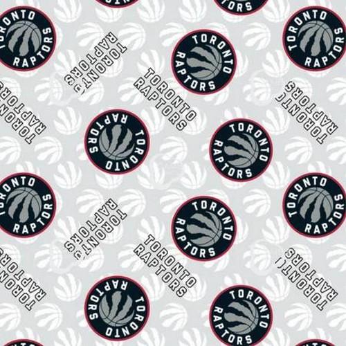 White Toronto Raptors NBA - Camelot Cotton (83tor0002)