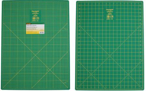 "18x24"" Double Sided Green Cutting Mat Omnigrid (24MDS)"