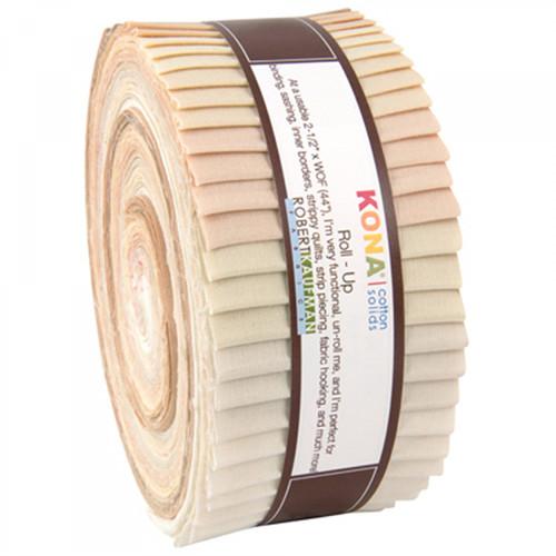 Jelly Roll Kona Cotton Not Quiet White 40pcs