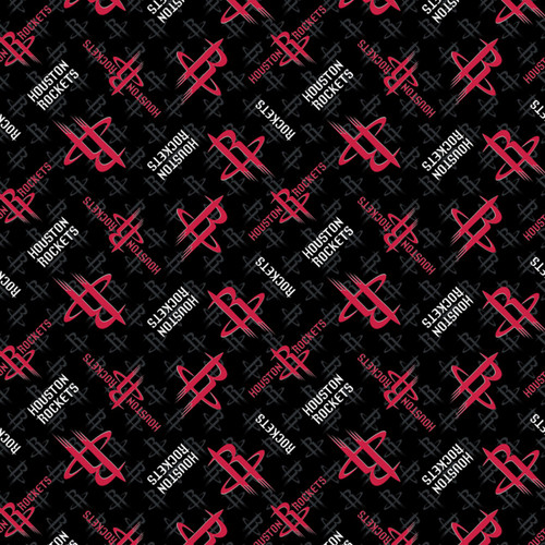 NBA Houston Rockets Cotton  - Camelot Cotton - 1/2 yard