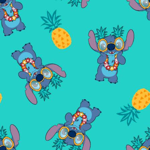 Disney Lilo & Stitch Pineapple - Springs Creative - 1/2 yard (73448A620715)