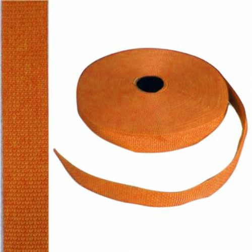 "1"" Webbing by the Yard - Orange"