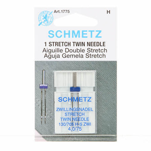 Schmetz Twin Stretch Machine Needle Size 4.0/75