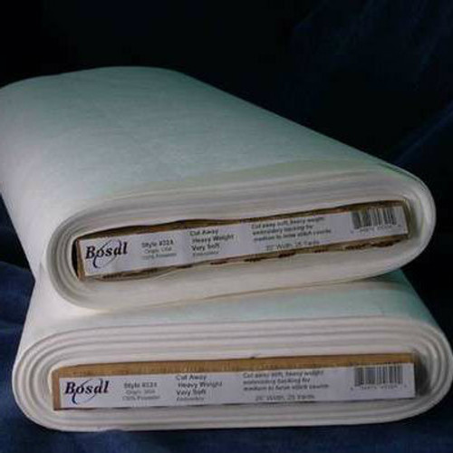 Bosal Heavy Weight Soft Cutaway Embroidery Stabilizer - 1/2 yard