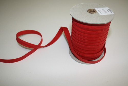 "Red Double fold Bias Tape 1/2"" - 1/2 yard"