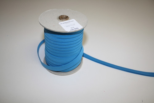 "Turquoise Double fold Bias Tape 1/2"" - 1/2 yard"