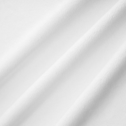 Snow White Smooth - Shannon Fabrics Cuddle Minky - 1/2 yard