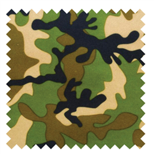 Army Camo PUL - 1/2 yard