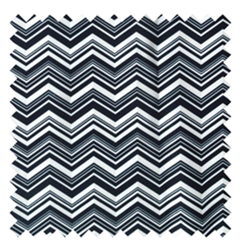 Black & White Chevron PUL - 1/2 yard