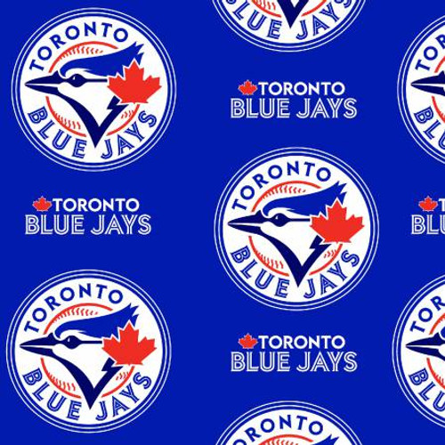MLB Toronto Blue Jays Fleece - 1/2 yard