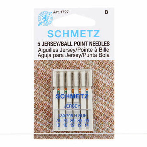 Schmetz Jersey/Ball Point Machine Needles Multi Size (5 pack)