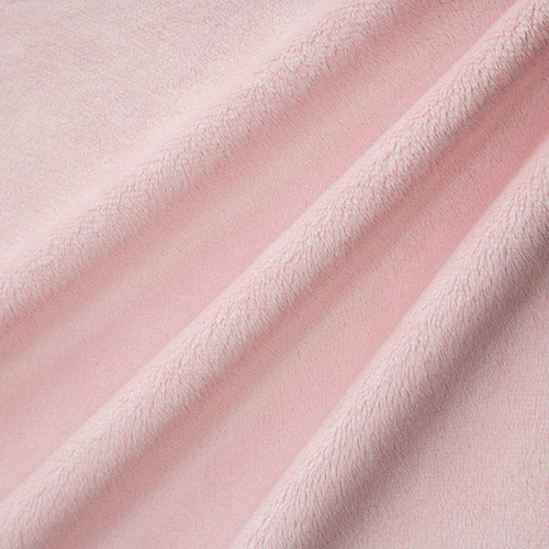 Blush Smooth - Shannon Fabrics Cuddle Minky - 1/2 yard
