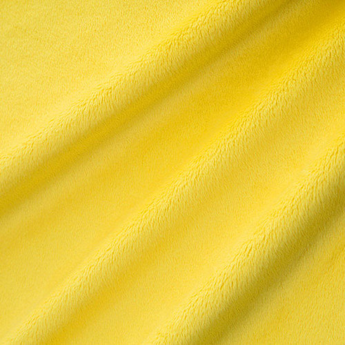 Canary Smooth - Shannon Fabrics Cuddle Minky - 1/2 yard