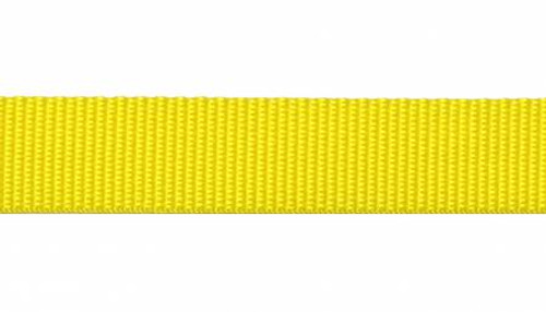 "1"" Webbing by the Yard - Yellow"