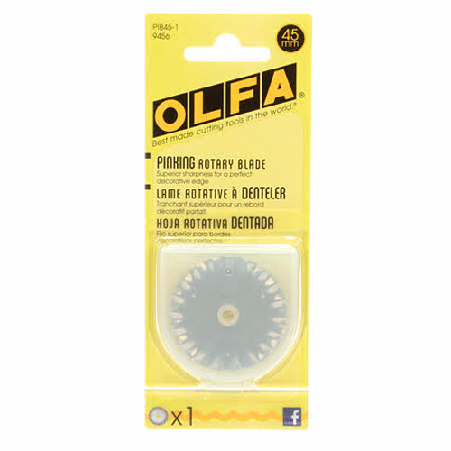 Olfa 45mm Pinking Blade - 1 pack