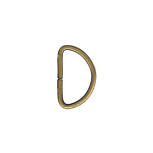 Antique Gold D-ring
