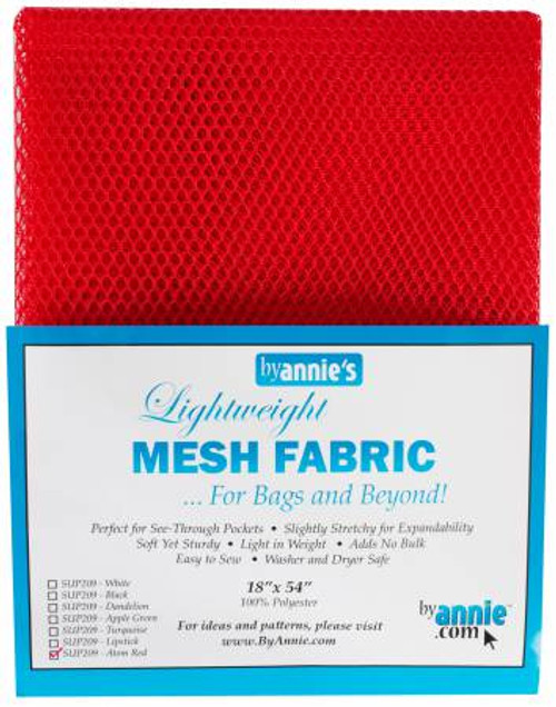 "Mesh Lite Weight Atomic Red - 18x54"" package"