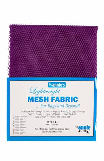 "Mesh Lite Weight Tahiti Purple - 18x54"" package"