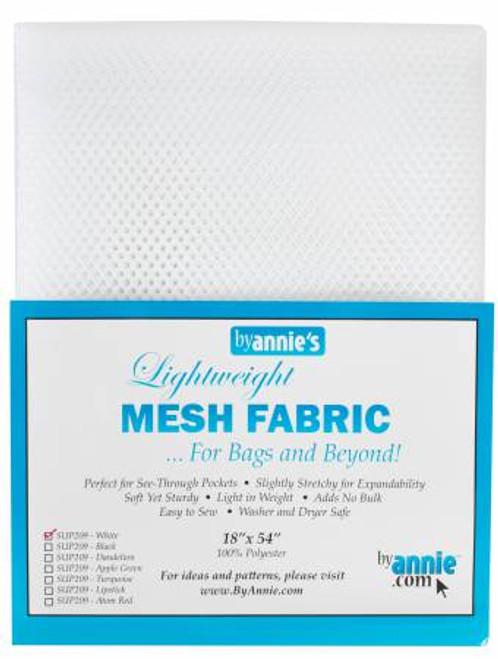 "Mesh Lite Weight White - 18x54"" package"