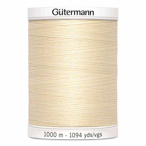 Ivory #800 Polyester Thread - 1000m