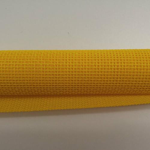 "Yellow Vinyl Bag Mesh - 18x36"""