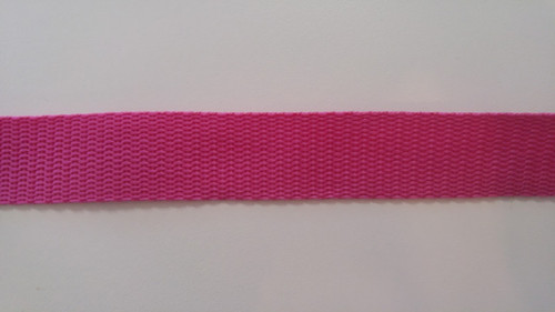 "1"" Webbing by the Yard - Dark Pink"