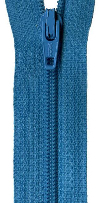 "14"" Zipper - Turquoise Splash"