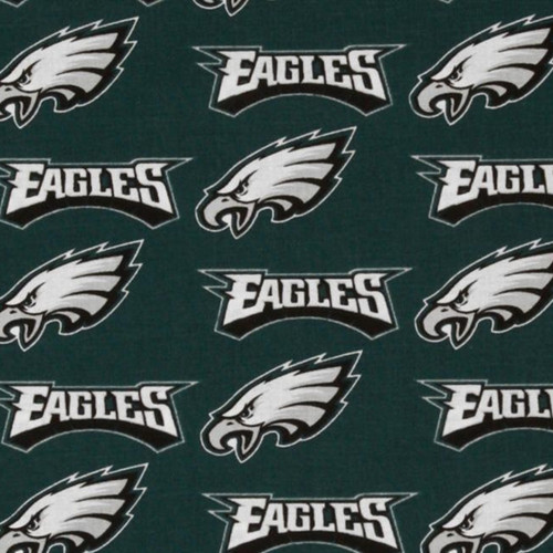 "NFL Philadelphia Eagles 60"" Wide Cotton"