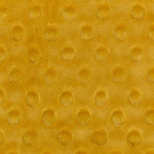 Gold Dimple - Shannon Fabrics Cuddle Minky - 1/2 yard
