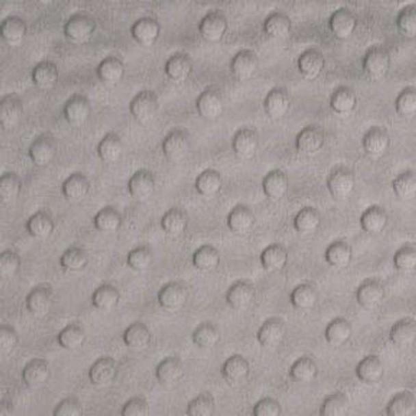 Silver Dimple Minky - 1/2 yard
