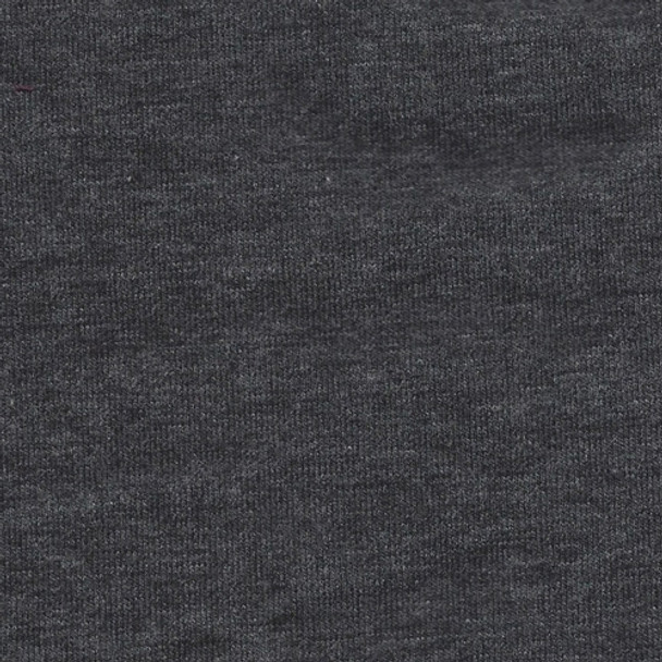 Charcoal 2 Tone 10oz Knit - 1/2 yard
