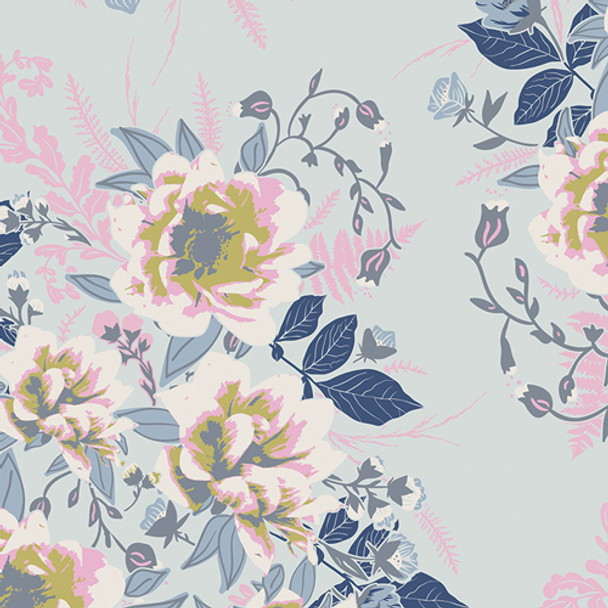 Cotton Wild Posy Ethereal - Art Gallery Cotton