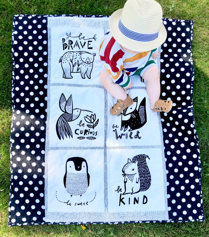 Weekly Sale: Dear Stella - Be You Panel Quilt