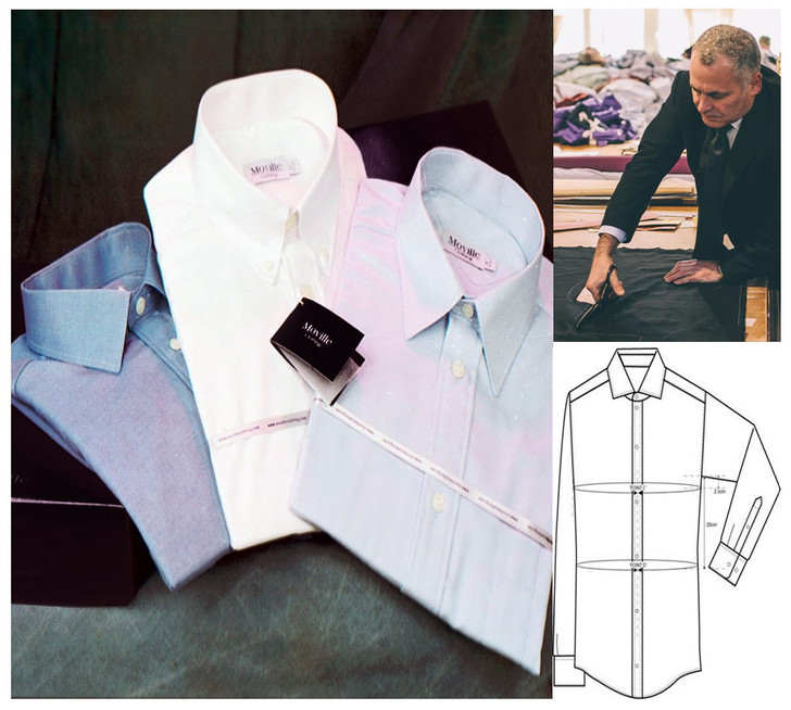 Made to Measure Business Shirt - in Easycare Polycotton