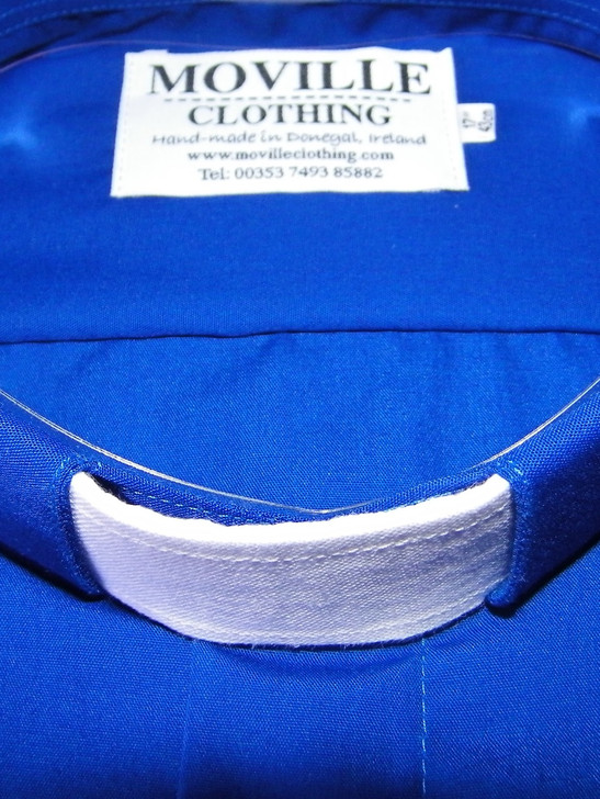 Clergy Tab Collar Neck Band - 100% Irish Linen