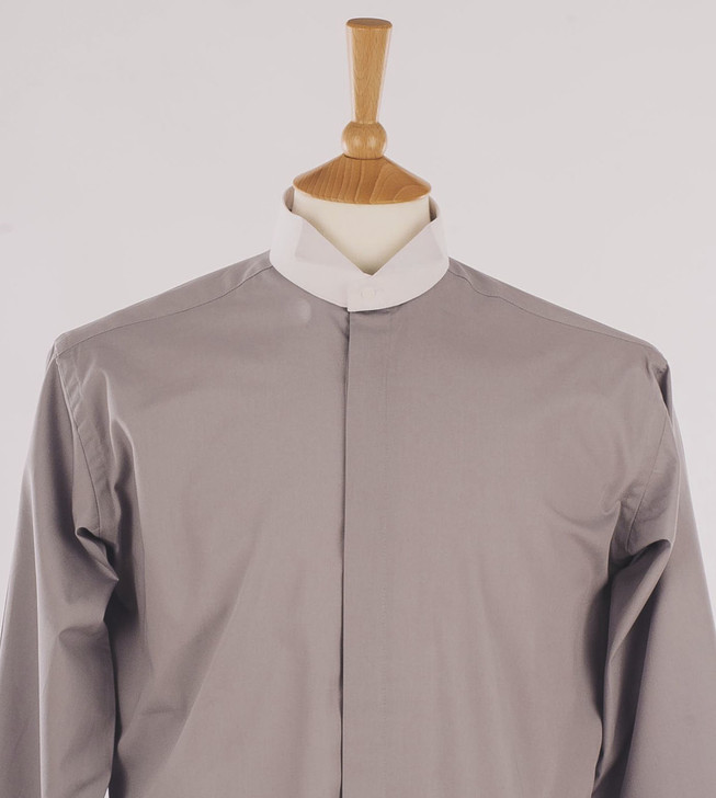 Men's Light Grey Court Shirt - Montgomery