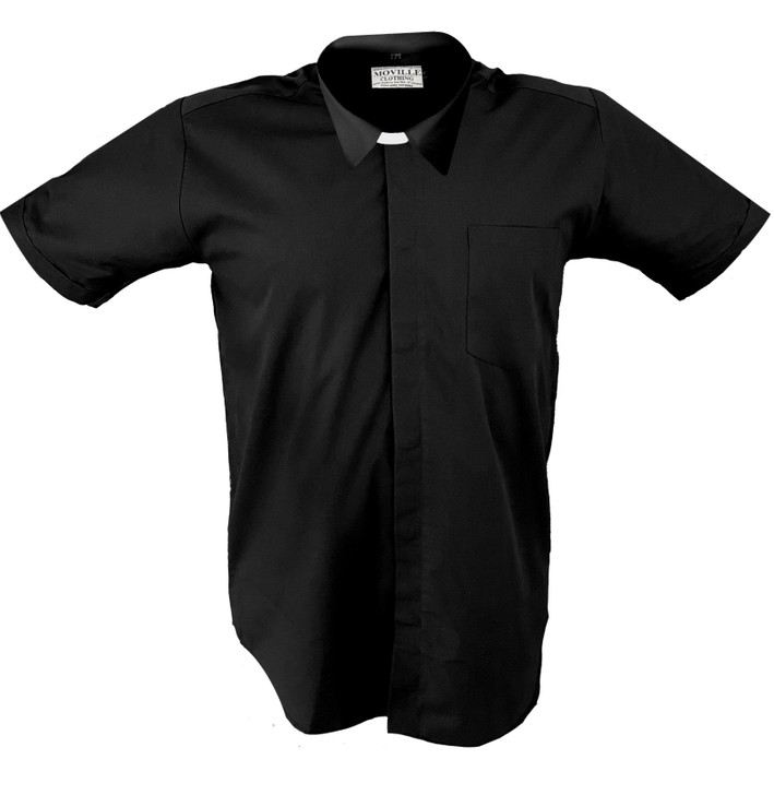 Men's Made to Measure STANDARD Collar Clergy Shirt in 100% Cotton