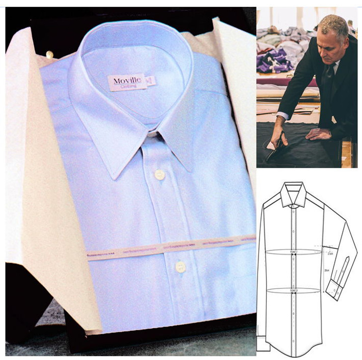 Made to Measure Business Shirt - in 100% Egyptian Cotton