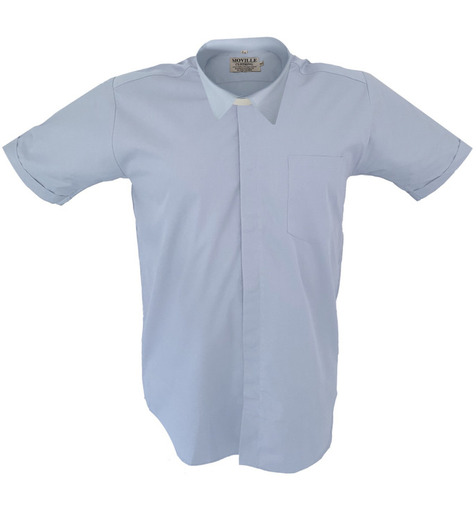 Men's Made to Measure STANDARD Collar Clergy Shirt in Superior PolyCotton