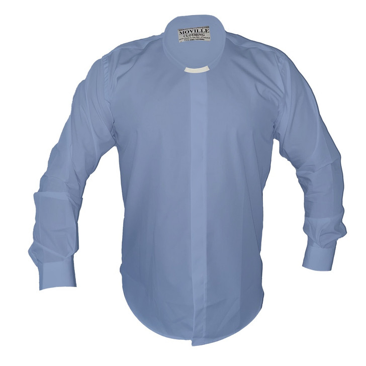 Men's Classic-fit Tunnel Collar Clergy Shirt