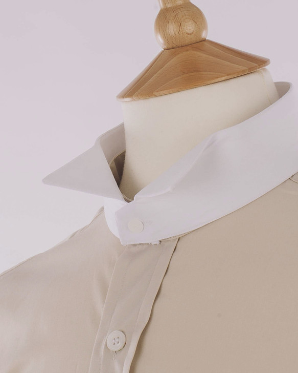 Men's Cream Court Shirt - Montgomery