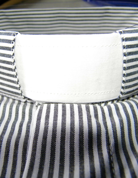 Clergy Tab Collar Neck Band - 100% Cotton