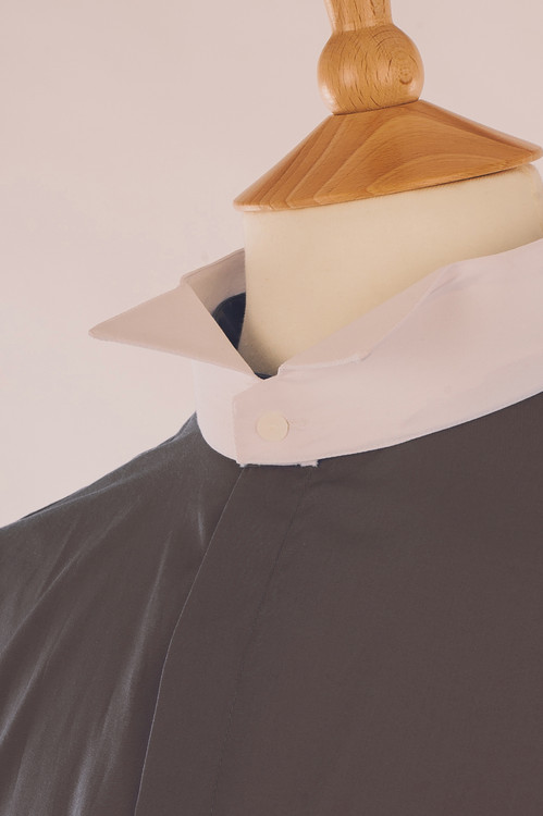 Dark Grey Court Shirt - Inishowen