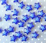 20mm Royal blue bead in a bead star acrylic beads