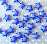 20mm Royal blue bead in a bead star acrylic beads