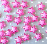 20mm Hot pink bead in a bead star acrylic beads