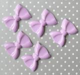 Light Purple big bow acrylic beads